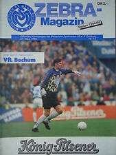 Programm 1994/95 MSV Duisburg - VfL Bochum