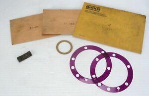 BINKS - (2) 37-337 Gasket, (1) 37-258 Felt Pad & (1) 37-85 Paper Gasket - NEW