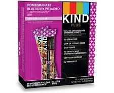 Kind Plus Pomegranate Blueberry Pistachio + Antioxidants Bar 1.4 Oz/Bar 12 Ct H