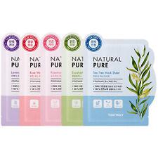 TONYMOLY Korean Natural Pure Facial Mask Sheet Face Skin Care Moisturizing Pack