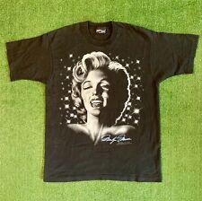 Vintage 90s Marilyn Monroe Graphic Single Stitch T-shirt. Size XL.