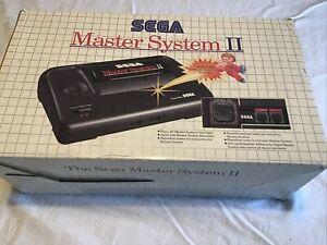 Sega Master System II - Pre Owned Boxed Vintage Retro