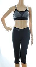 Victoria Secret PINK Ultimate Yoga Extreme Crop Capris and Sports Bra Lot S