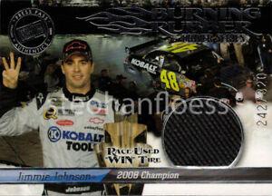 2009 Press Pass Eclipse Burning Rubber Jimmie Johnson 2008 Championship 242/320