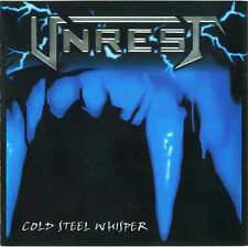 Unrest – Cold Steel Whisper CD NEW