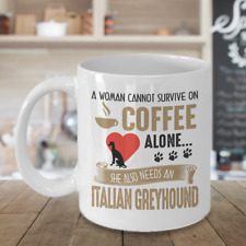 Italian Greyhound Coffee Mug, Italian Greyhound Gifts, Iggy Accessories