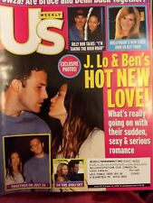 US Magazine 8-12-02 J. Lo Lopez and Ben Afflek Hot New Love