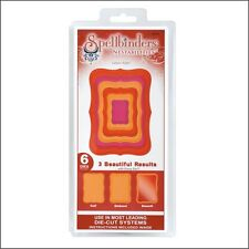 Spellbinders Nestabilities Dies Labels 8 metal die set  S5-019 Frames
