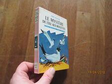 BIBLIOTHEQUE ROSE RENE MARCHAL MYSTERE ile aux mouettes enid blyton 1961 1T