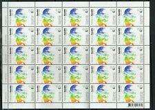 Slovenia 2019 Mahatma Gandhi India Indian theme Full sheet of stamps MNH