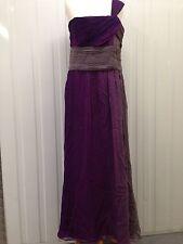 Women's Principles Long Purple Dress - Size Uk12 - Great Condition