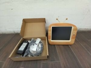 """Hannspree 9.6"""" LCD TV T092  Never Used. With Remote"""
