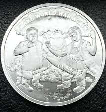 2018 Prophecy Series #8 Make World War Again 1 oz .999 Silver Coin COA (6013)