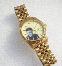Elvis Presley Men's Gold Tone Steel Watch Analog Dial