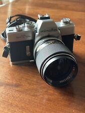 Minolta Srt 101b Film Camera 35mm Vintage With Lens