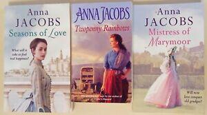 Anna Jacobs bundle of 3 books