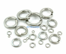 15 Pieces M18 Split Lock Washer Marine Grade 316 Stainless Steel