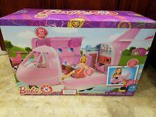 New Mattel Barbie Pink Passport Glamour Jet, Brand New In Original Box Nib