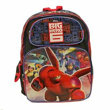 """Disney Big Hero 6 Large 16"""" inches backpack - Brand New - Licensed Product"""