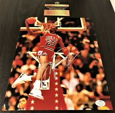 Michael Jordan Dunking Signed 8x10 Photo w/ COA Autograph Bulls Certified