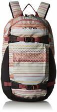 Burton Day Hiker Pack 25L Backpack - Women's - Aqua Gray Revel Stripe Print