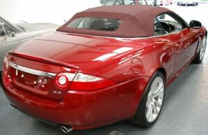 Jaguar XK XKR 2007-2015 Replacement Convertible soft top- RED- BORDEAUX