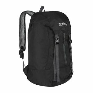 Regatta Unisex Easypack II 25L Lightweight Packaway Backpack Black