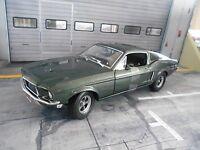 FORD Mustang GT Coupe 1968 Steve McQueen BULLITT green grün Greenlight 1:18