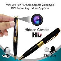 US Surveillance Camcorder Pen Mini DVR Camera/Video/Sound Recorder Hidden Cam