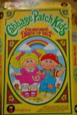 Cabbage Patch. kids Colorforms Playset Vintage 80's Awesome