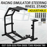 Racing Simulator Steering Wheel Cockpit Stand For Logitech G27 G29 G25 PS4 G920