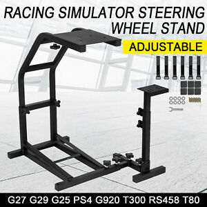 Racing Simulator Steering Wheel Cockpit Stand For Logitech G27 G29 G25 PS4 G920