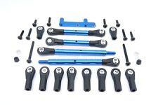 GPM CC161 Aluminum Rear Adjustable Suspension Linkage Links Blue For Tamiya CC01