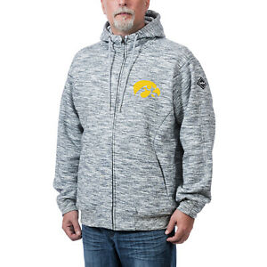 Franchise Club Iowa Hawkeyes Clutch Fleece Zip-up Hooded Jacket