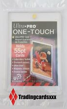 ♦Pokémon/Yu-Gi-Oh!♦ Protection One Touch Magnetic Card Holder Ultra PRO 55pt