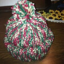 Hand Knit Ladies Hat