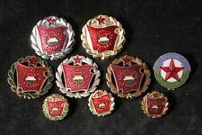 Hungary Lot Set Socialist Brigade Variations Pin Communist Labor Medal Badge