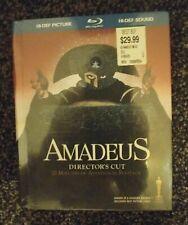 Amadeus - 2009 Blu-ray director's cut with bonus Cd - rare new sealed