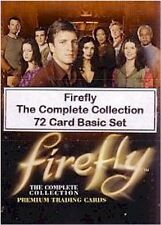 Firefly: The Complete Collection - 72 Card Basic/Base Set