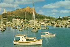 YACHTS in TOWNSVILLE HARBOUR POSTCARD PRE-STAMPED Australia Post Series III 22c