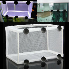 Aquarium Fish Tank Baby Fish Shrimp Tank Net Breeder Hatchery Newborn Case Box