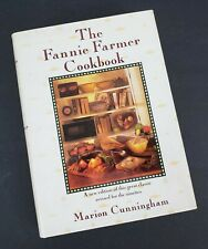 SIGNED Fannie Farmer Cookbook by Marion Cunningham 1990 Hardcover 13th Edition