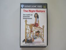 THE NIGHT BEFORE  - VHS