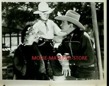 "Buck Jones Hollywood Roundup 8x10"" Photo From Original Negative #M1730"