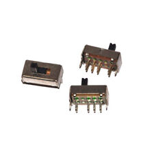 50pcs Slide Switch SS23D07VG4 Slide Switch 3 files 8 feet Handle high 4MM DIY