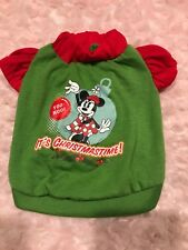 Small Minnie Dog Christmas Shirt Disney