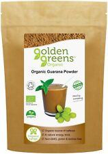 Golden Greens Organic Guarana Powder 100g, Concentration, Athletic Performance