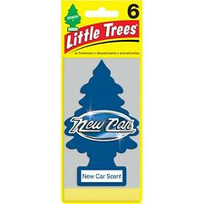 New Car Scent, Little Trees, Air Freshener. Pack of 6 pieces.  FREE SHIPPING