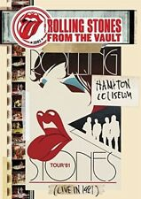 THE ROLLING STONES - FROM THE VAULT-HAMPTON COLISEUM LIVE IN 1981  DVD NEW+