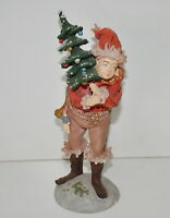 Duncan Royale Pixie History of Santa II 1985 Collectors Edition Figurine 10.5""